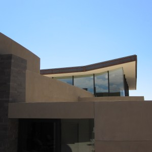 Exterior view of the Scottsdale Residence