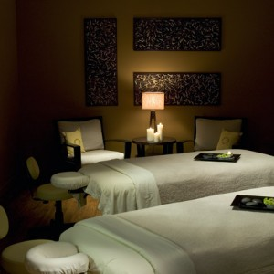 Couples Massage Room at Evensong