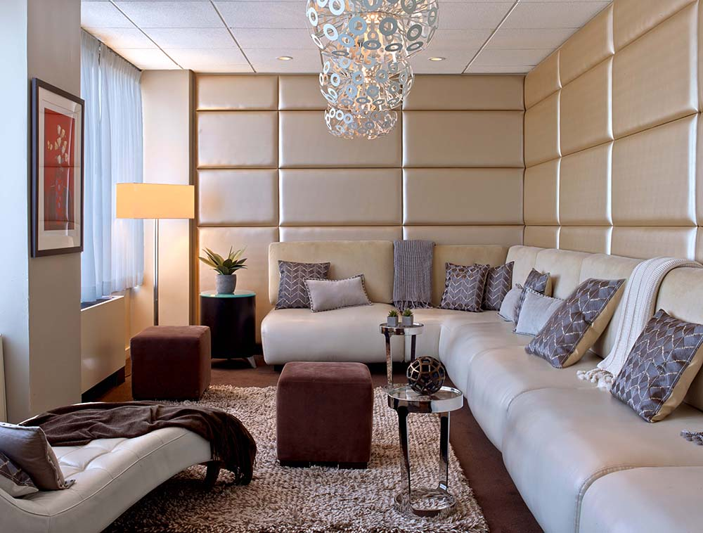 Relaxation Lounge At Red Door Spa Chevy Chase