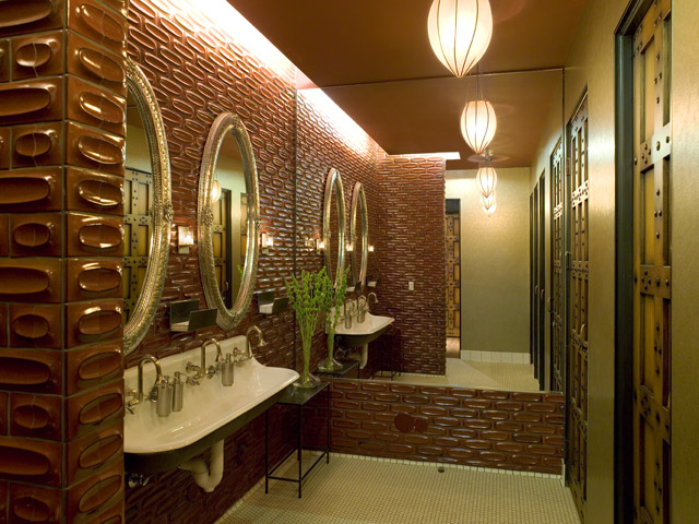 Bathroom at Olive & Ivy