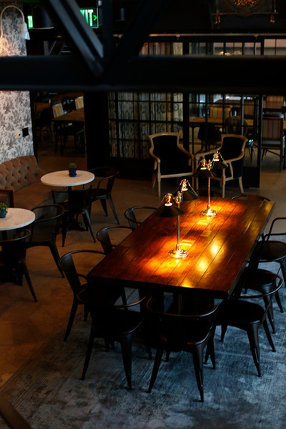 Dining room at The Henry