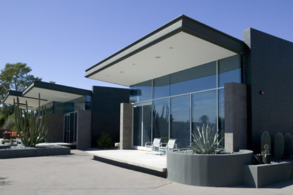 Exterior view of Paradise Valley Residence