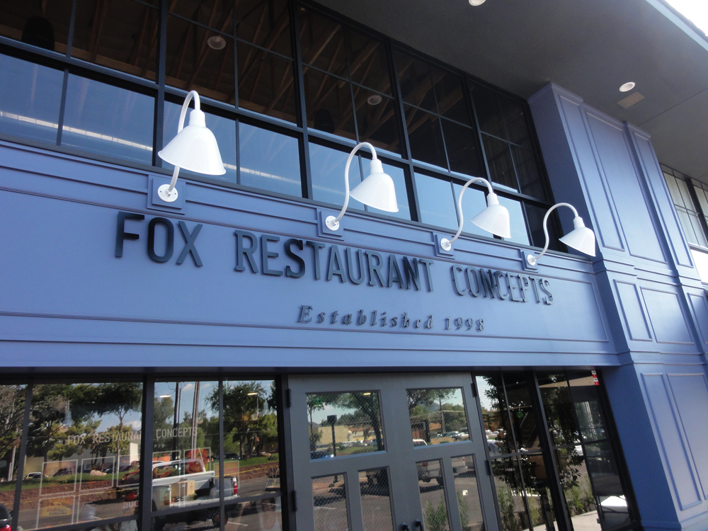 Storefront at Fox Restaurant Concepts