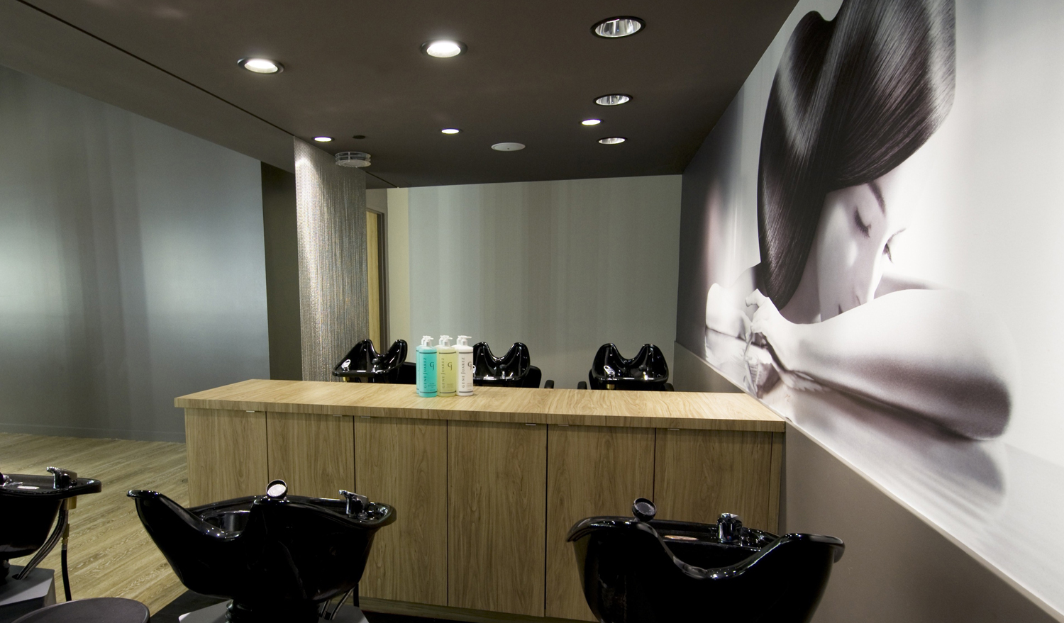 Wash Stations at Gene Juarez Salon & Spa at Kitsap