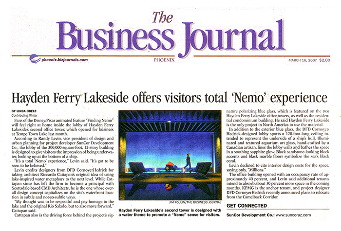 Featured in The Business Journal